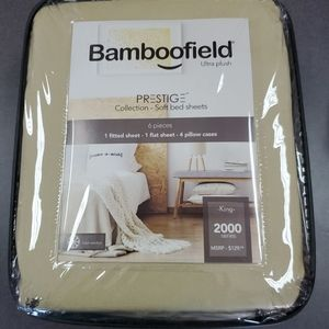 New Bamboofield Sheet and pillow case Set